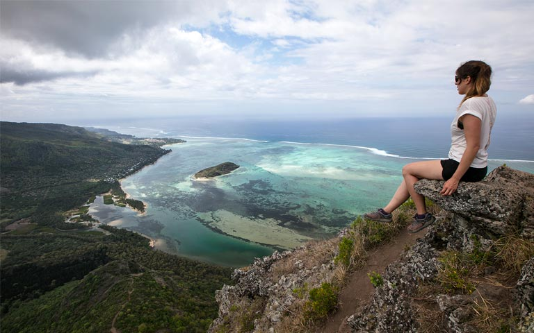 top of le morne brabant