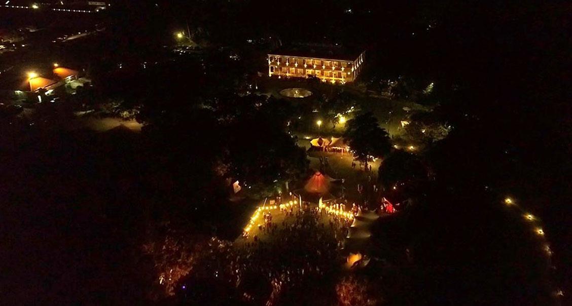 La Isla 2068 Festival media