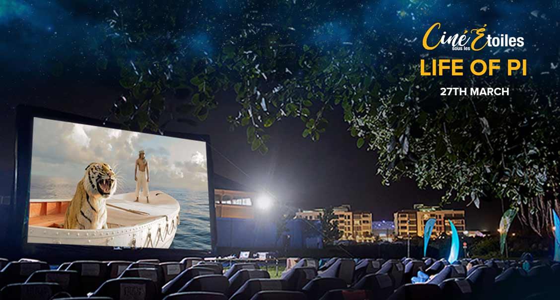 Cinéma En Plein Air – Life of Pi (2012) à Ciné Sous Les Étoiles media