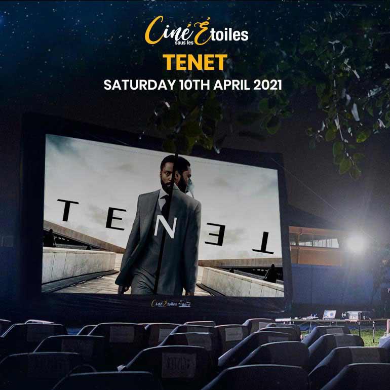 Cinéma En Plein Air – Tenet (2020) à Ciné Sous Les Étoiles