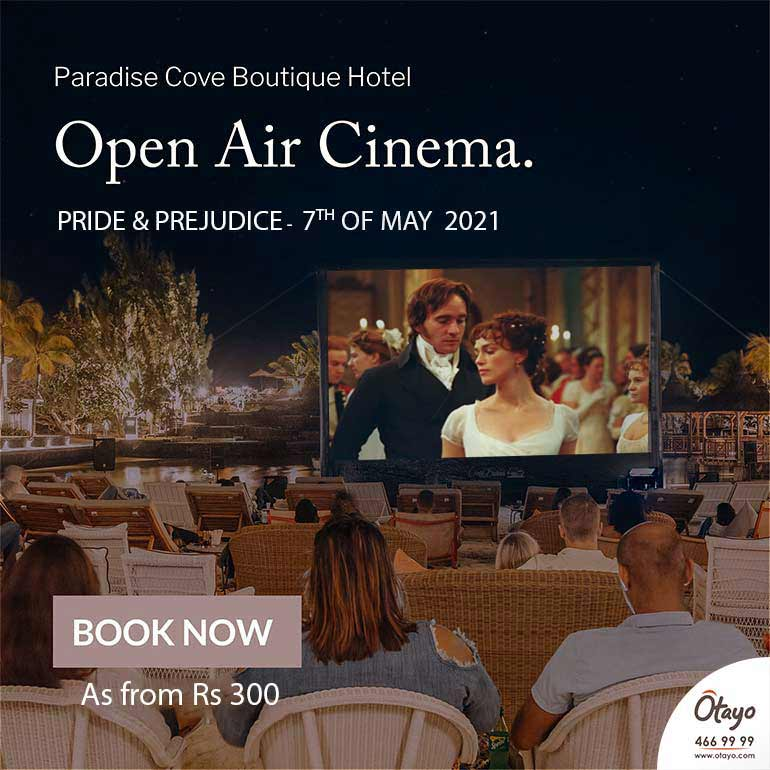 Open Air Cinema at Paradise Cove – Pride and Prejudice