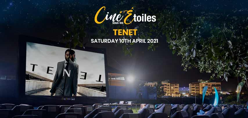 Open Air Cinema – Tenet (2020) at Ciné Sous Les Étoiles slider image