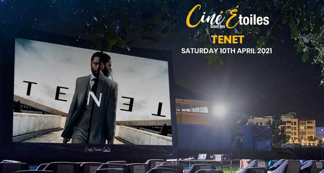 Open Air Cinema – Tenet (2020) at Ciné Sous Les Étoiles media