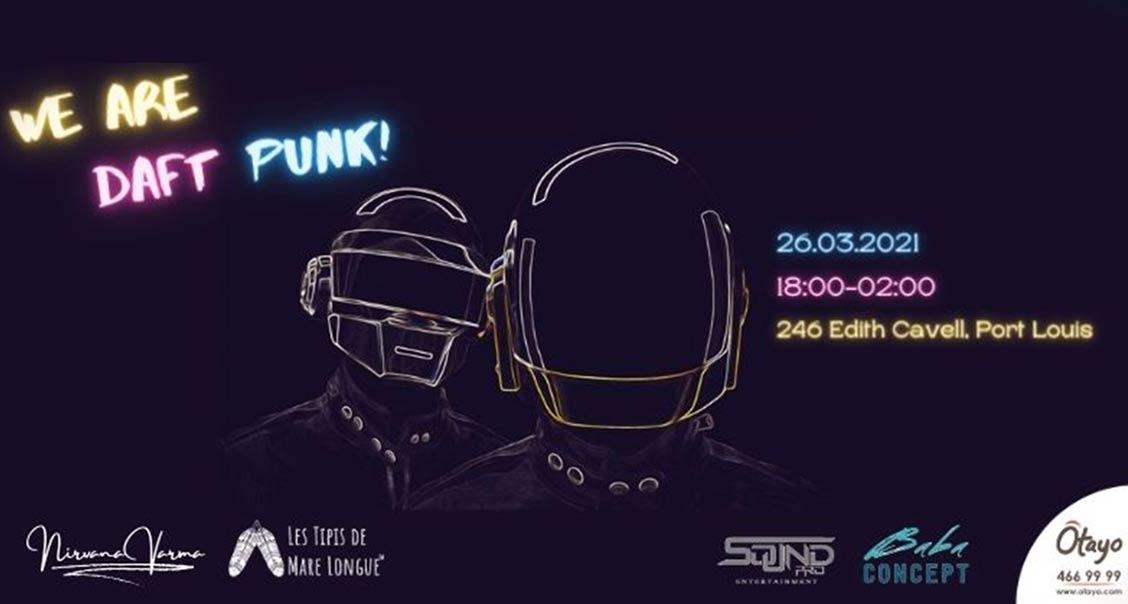 We are Daft Punk! media