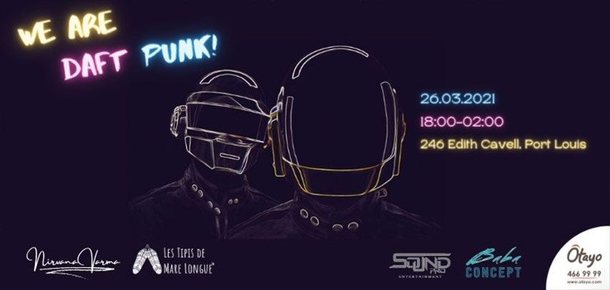 We are Daft Punk! slider image