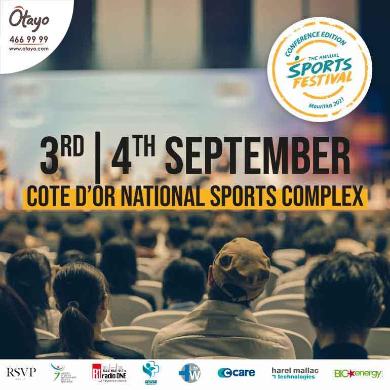 Mauritius Sports Festival – Conference Edition