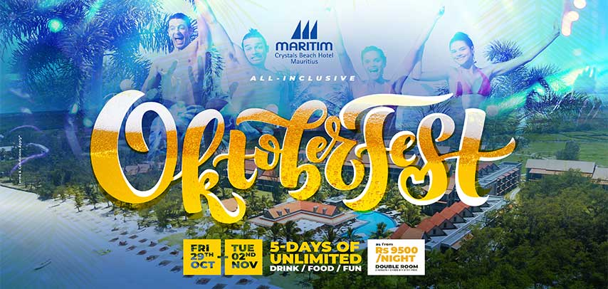 Oktoberfest 2021 by Maritim Crystals Beach Hotel slider image