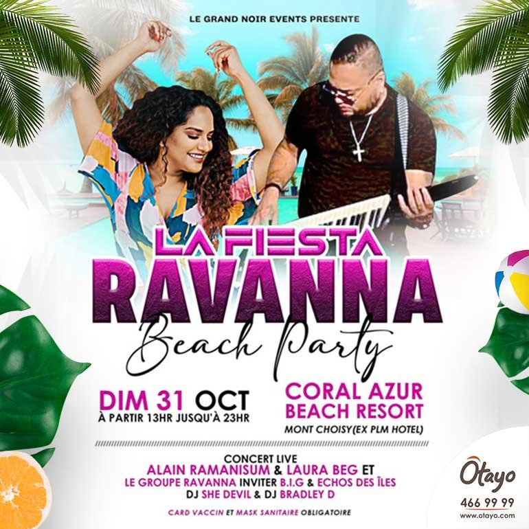 La Fiesta Ravanna Beach Party